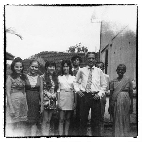 Old Vintage Family Photograph Black And White Photography Sri Lanka