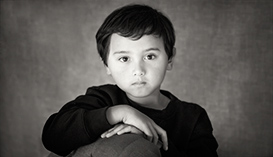 Black and White portrait photography kids child melbourne