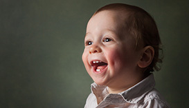 Child baby and kids portraits Melbourne laughing and smiling
